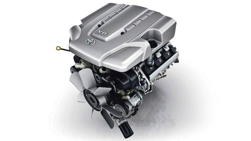 Toyota Land Cruiser - двигатель