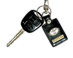 Toyota Land Cruiser 100 - ключ