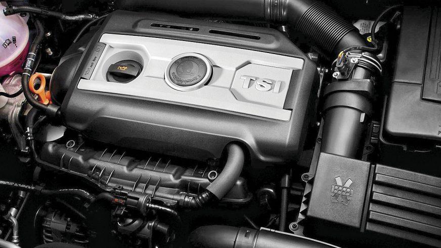 Škoda Octavia Combi - 2010 - двигатель