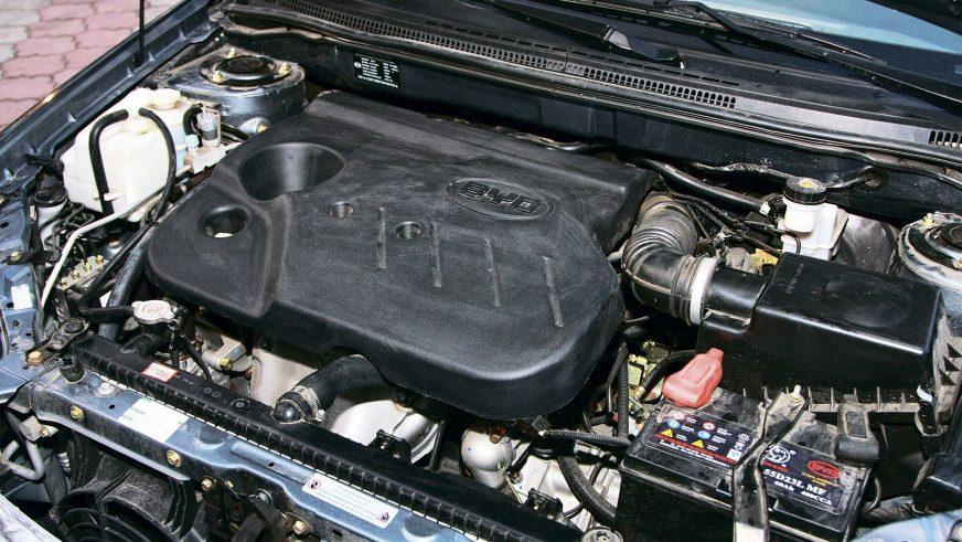 BYD G3 - 2010 - двигатель