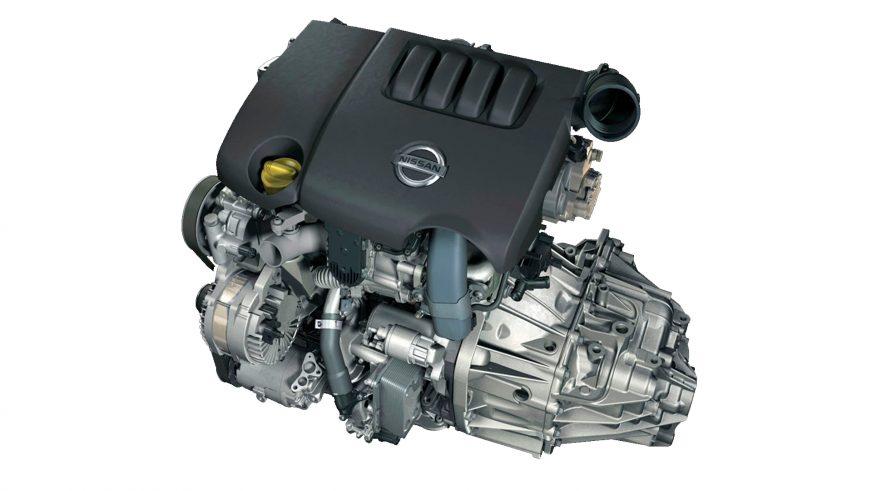Nissan Qashqai - 2010 - двигатель