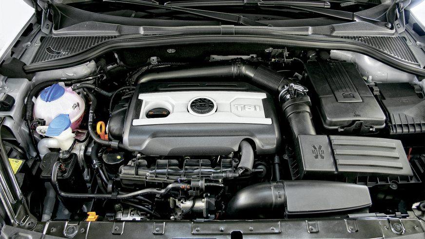 Škoda Yeti - 2010 - двигатель