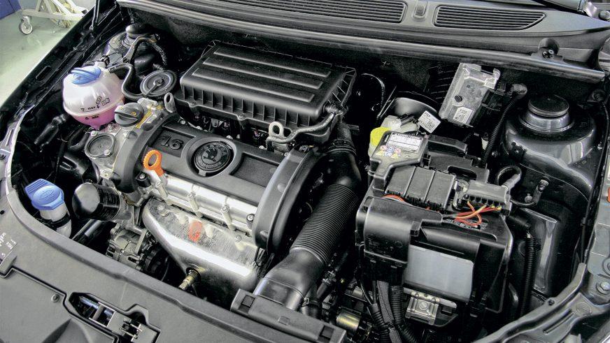 Škoda Fabia - 2010 - engine