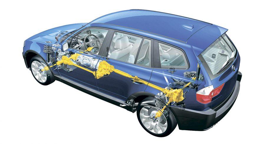 BMW X3 - 2004 - трансмиссия