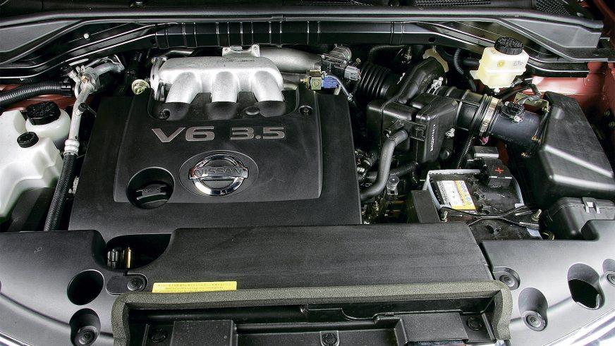 Nissan Murano - 2004 - двигатель