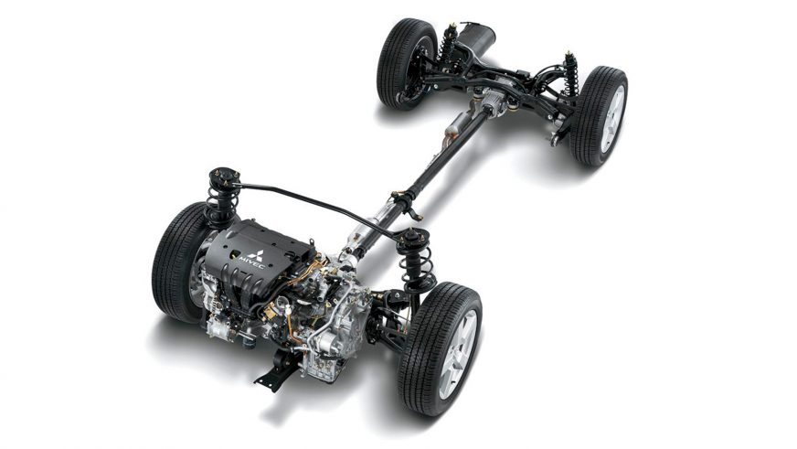 Mitsubishi ASX - 2010 - трансмиссия