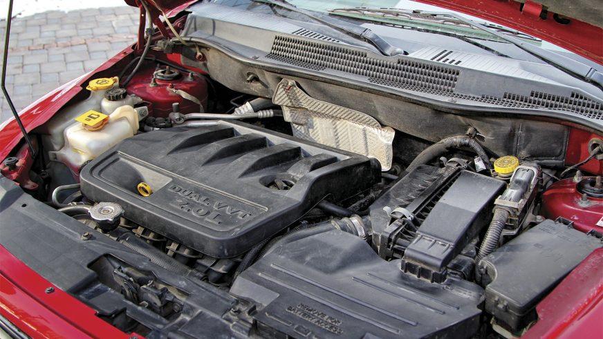 Dodge Caliber - 2007 - двигатель