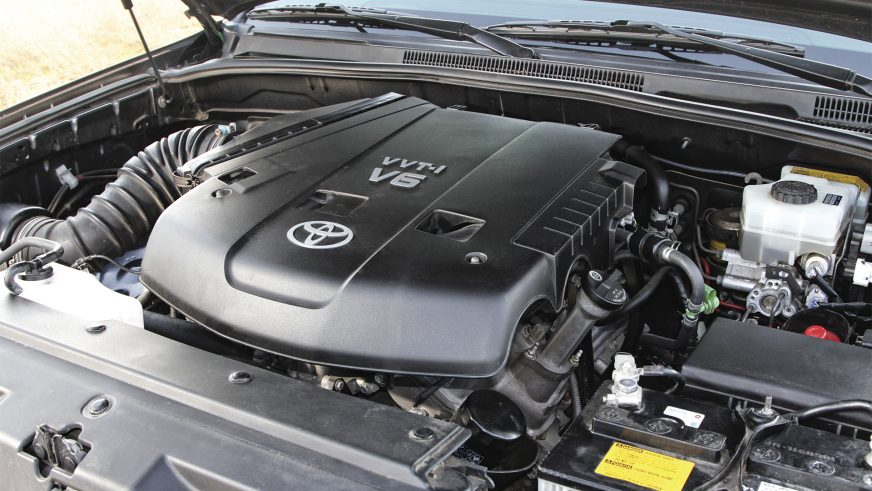 Toyota 4Runner - 2008 - двигатель