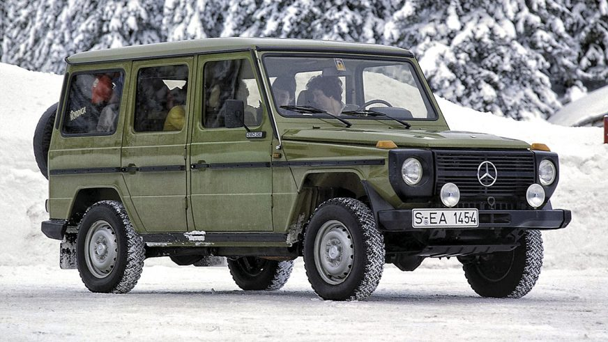 1979 год: Mercedes-Benz Geländewagen (W460)