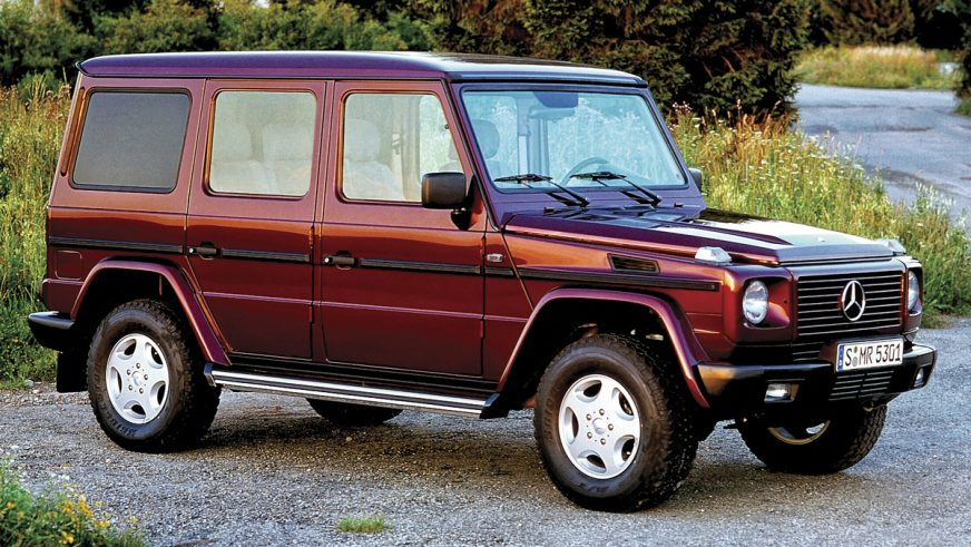 1996 год: Mercedes-Benz Geländewagen (W463)