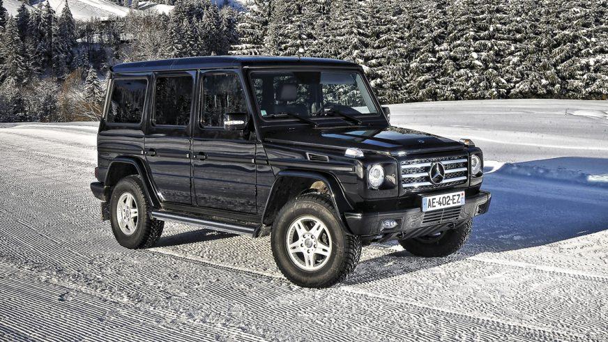 2010 год: Mercedes-Benz G 350 CDI (W463)