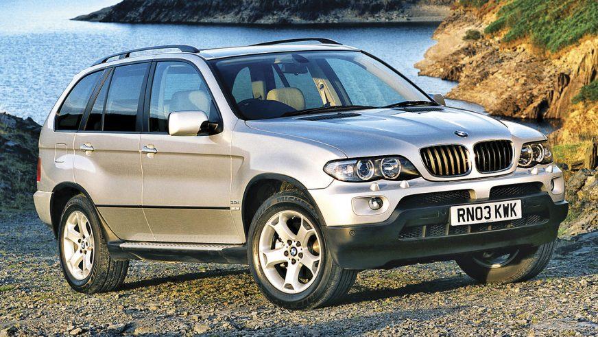 2003 год — BMW X5 первого поколения (E53 рестайлинг)