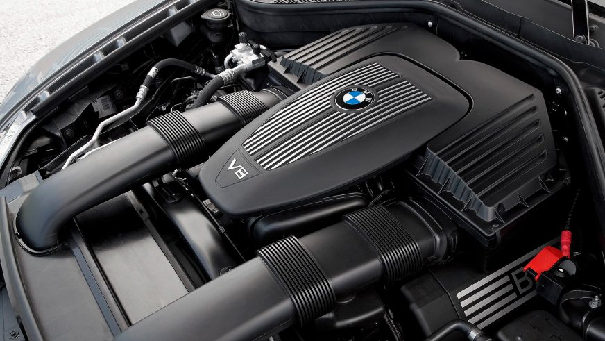 BMW X5 - 2007 - двигатель