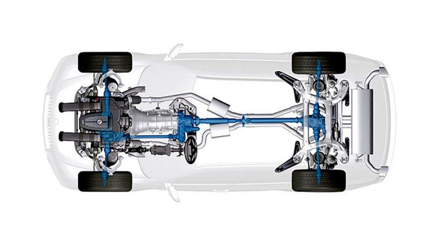 BMW X5 - 2007 - трансмиссия