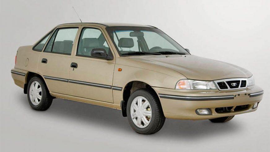 2002 год — Daewoo Nexia первого поколения (рестайлинг)