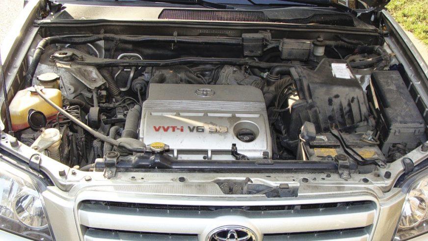 Toyota Highlander - 2006 - двигатель
