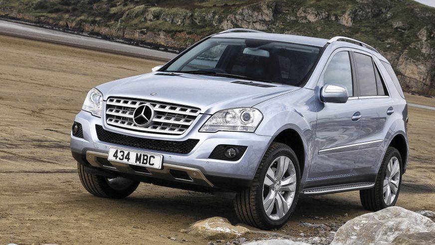 2009 год: Mercedes-Benz ML второго поколения (W164) (рестайлинг)