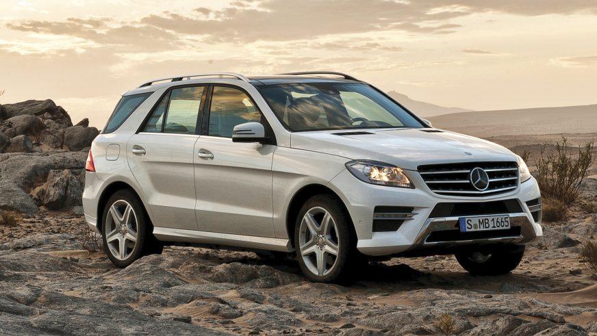 2011 год: Mercedes-Benz ML третьего поколения (W166)