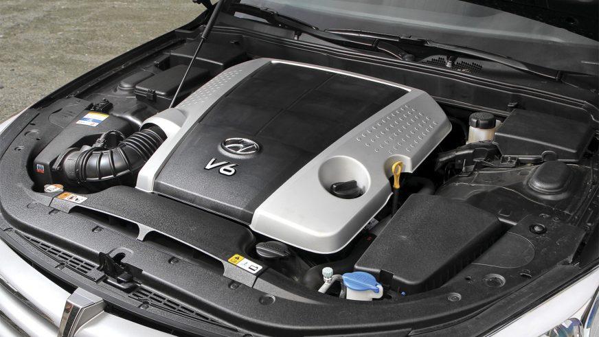 Hyundai Genesis - 2012 - двигатель