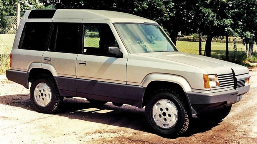 1986 год - Land Rover Discovery Prototype