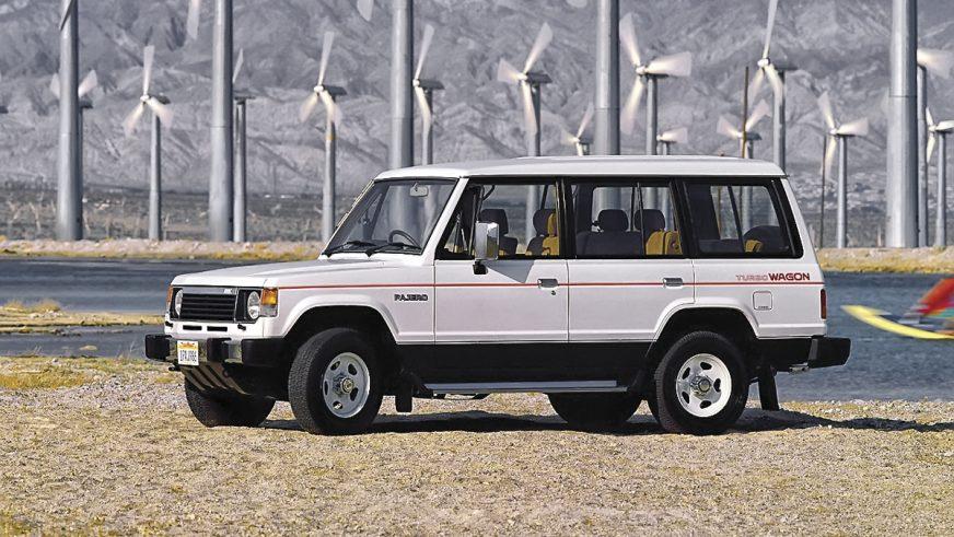 1983 год - Mitsubishi Pajero первого поколения