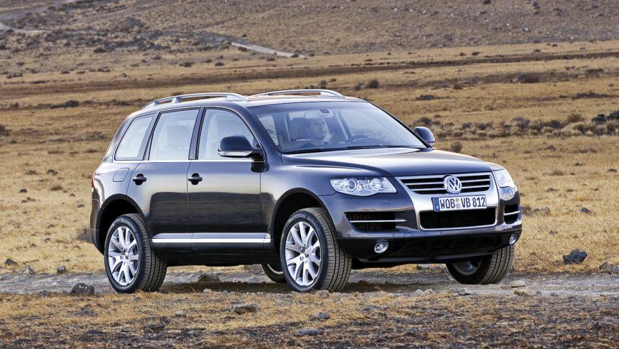 2006 год — Volkswagen Touareg первого поколения (рестайлинг)