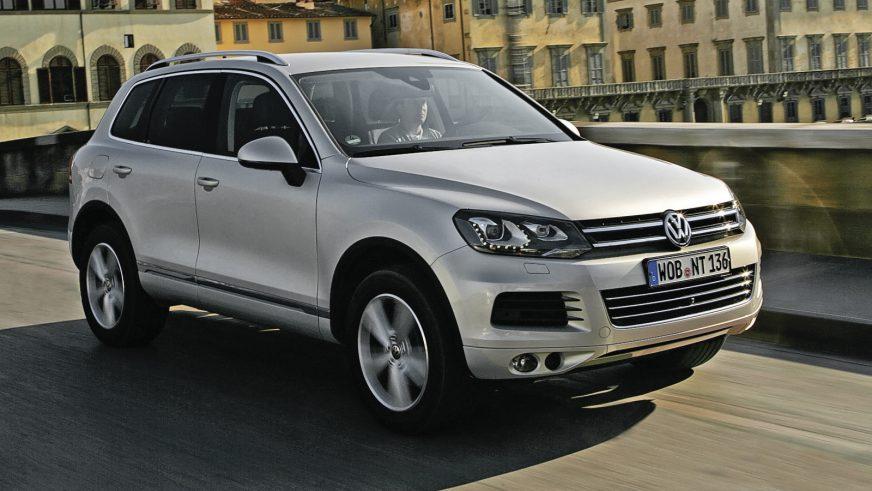 2010 год — Volkswagen Touareg второго поколения