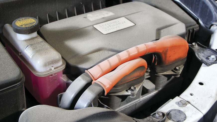 Toyota Camry 40 Hybrid - 2007 - двигатель
