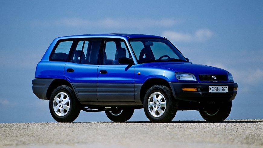 1994 год — первое поколение Toyota RAV4