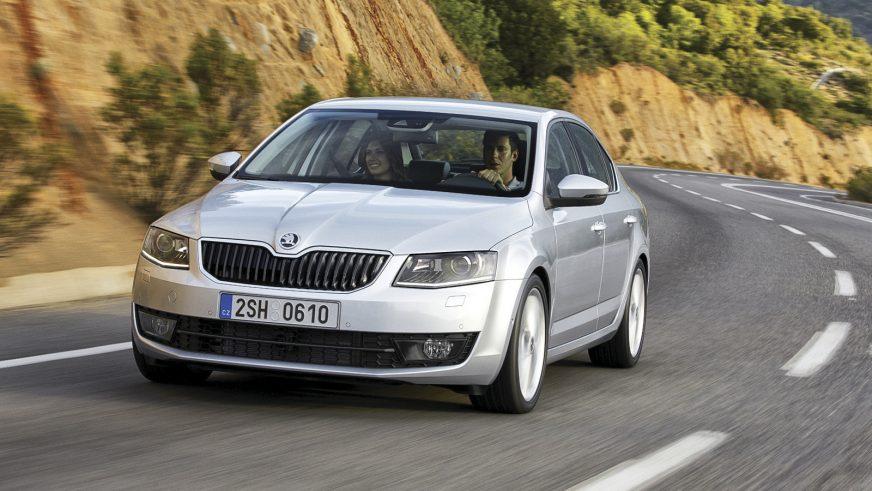 2013 год - Škoda Octavia третьего поколения