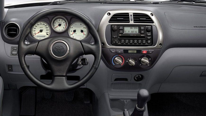 2000 год — RAV4 второго поколения
