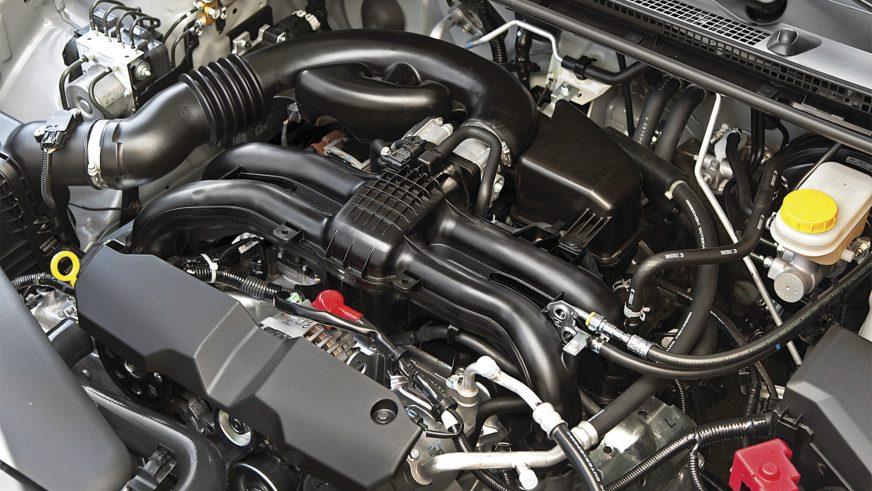 Subaru XV - 2013 - двигатель