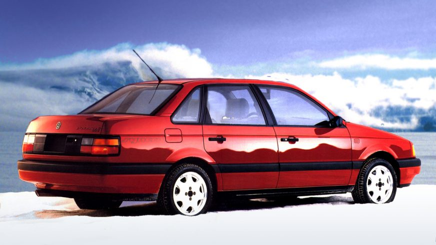 1989 год - Volkswagen Passat