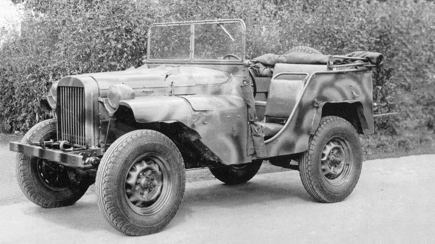 В 1941 году на создание ГАЗ-64 ушёл 51 день