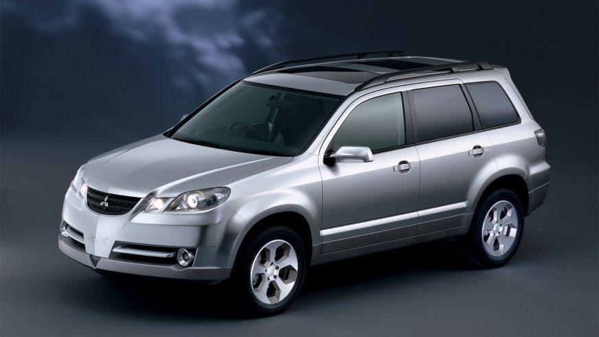 2000 год — концепт-кар Mitsubishi ASX