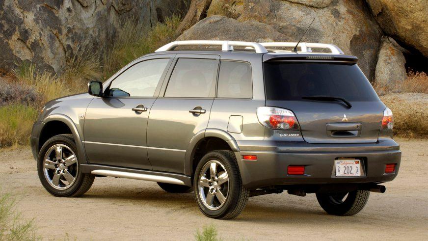2002 год — Mitsubishi Outlander версия для американского рынка