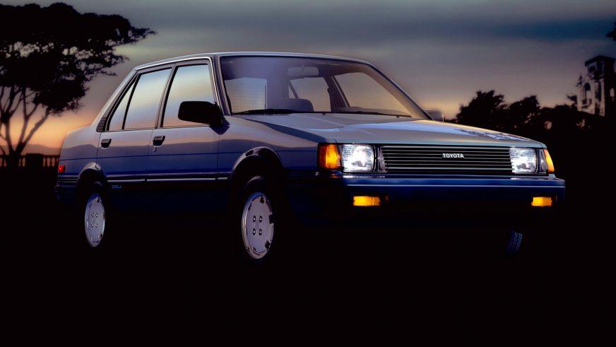 1983 год — Toyota Corolla пятого поколения