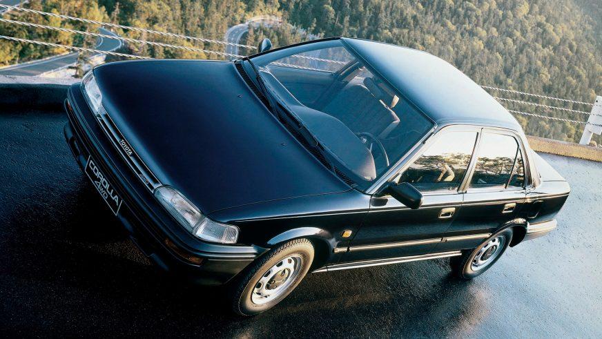 1987 год — Toyota Corolla шестого поколения