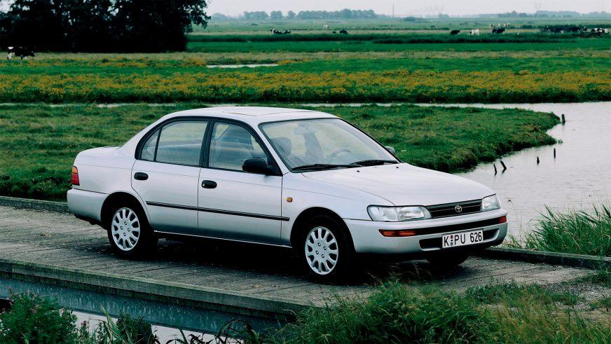 1991 год — Toyota Corolla седьмого поколения