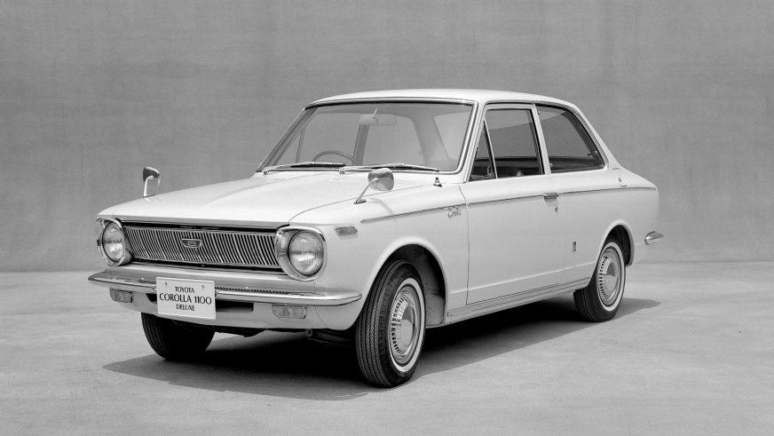 1966 год — Toyota Corolla первого поколения
