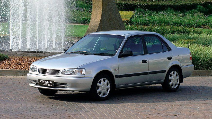 1995 год — Toyota Corolla восьмого поколения