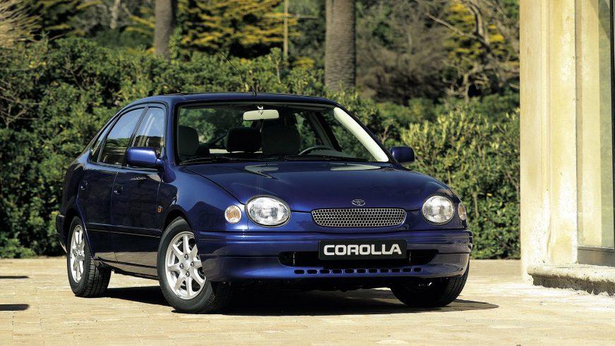 1997 год — Toyota Corolla восьмого поколения для Европы
