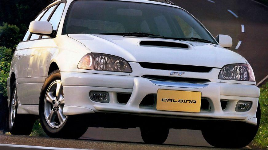 1997: Toyota Caldina GT-T. Негізінен жапон нарығында универсал шанағында қолжетімді болды, бірақ олардың бірнешеуі біздің елде де жүр