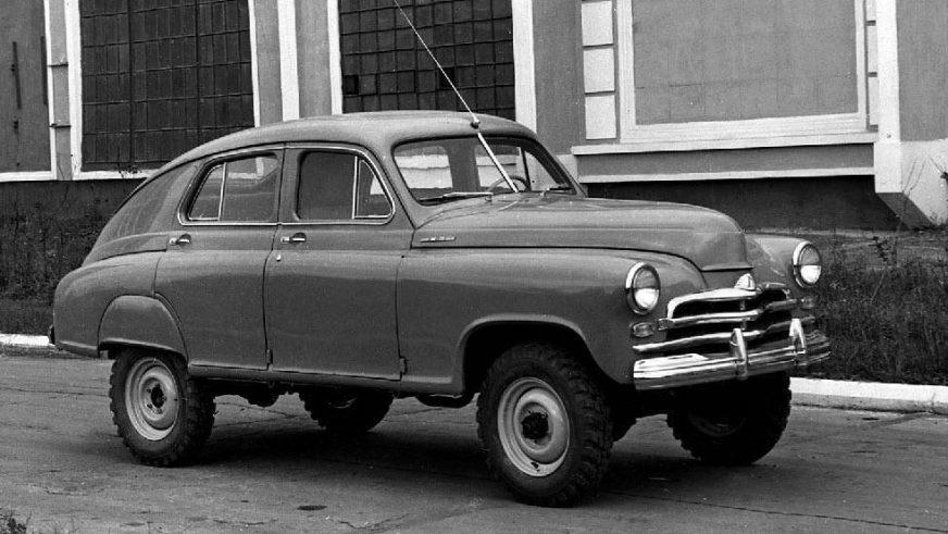 1955 год — ГАЗ М-72