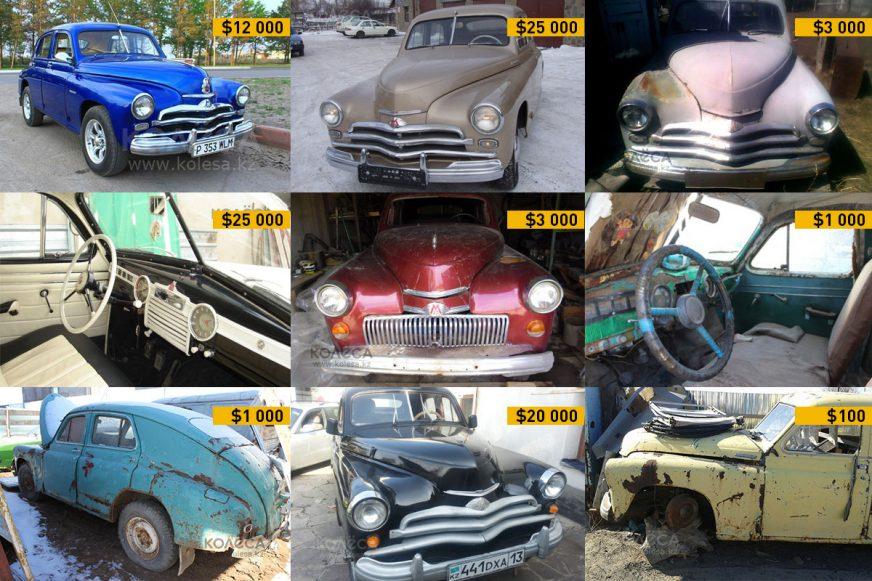 ГАЗ М-20 «Победа» - рынок