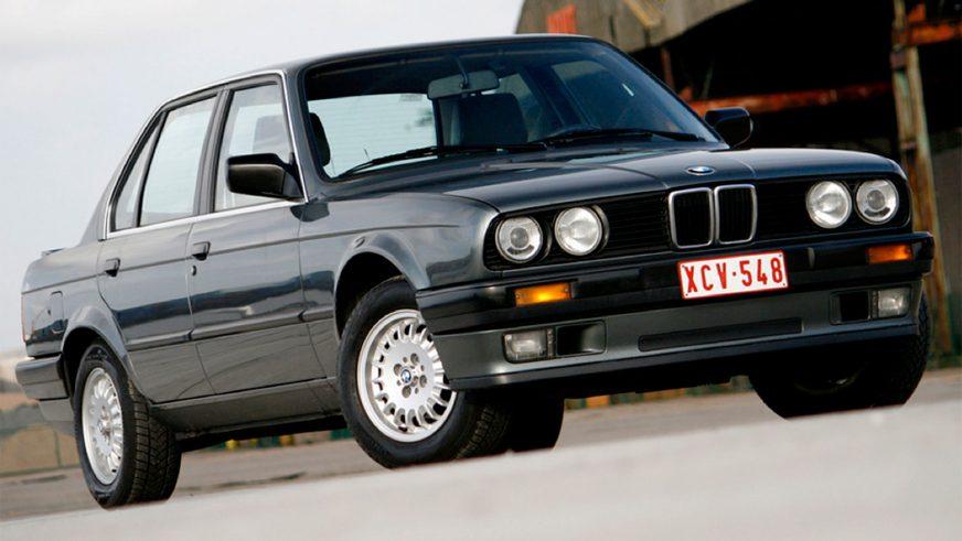 1982 год — BMW 320i Sedan (E30)