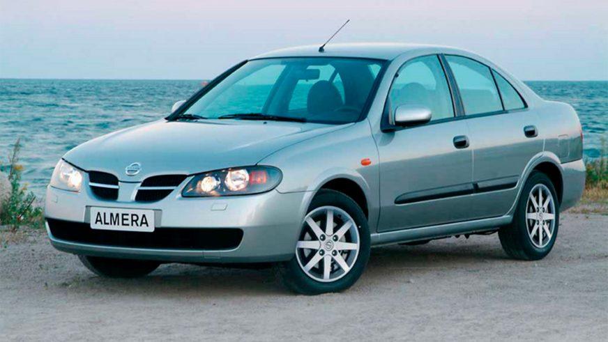 2003 год — Nissan Almera (N16) второго поколения (рестайлинг)