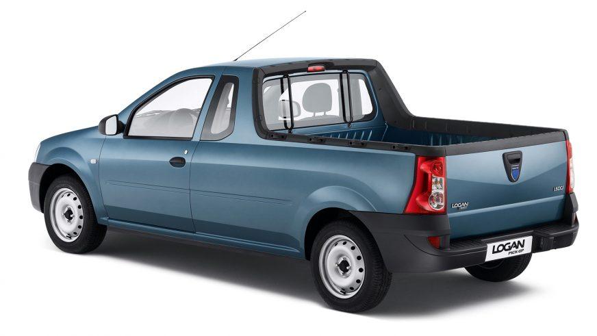 2007 год — Dacia Logan Pick-up первого поколения
