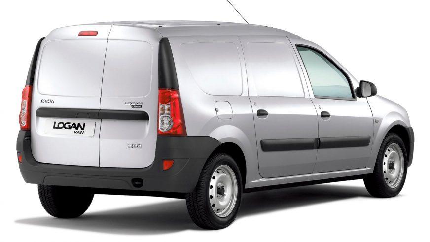 2007 год — Dacia Logan Van первого поколения