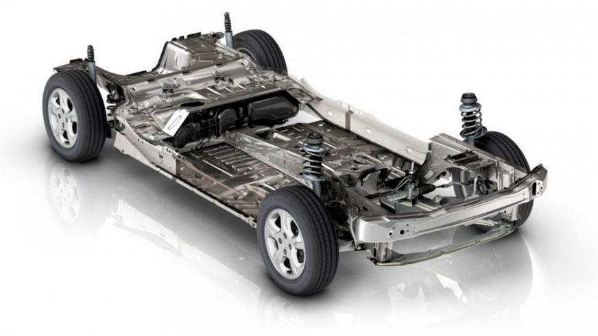 Renault Logan - 2014 - шасси